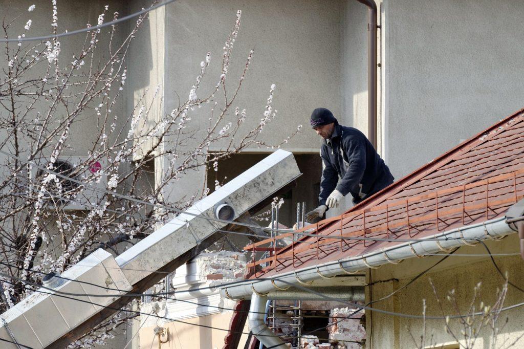 безопасност при събаряне на сгради
